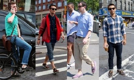 Dica de estilo: Barra da calça mais curta ou dobrada
