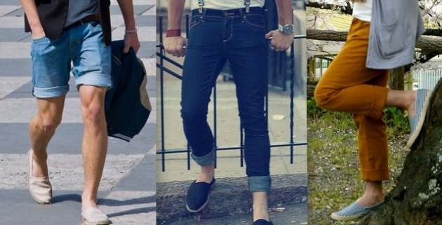 Street Style: Espadrilles Masculinas