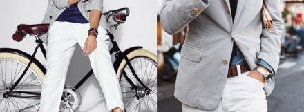 Como usar calças e bermudas brancas?