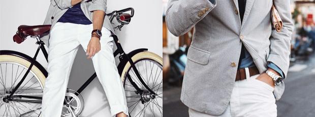 Como usar calças e bermudas brancas   77a38adb32c