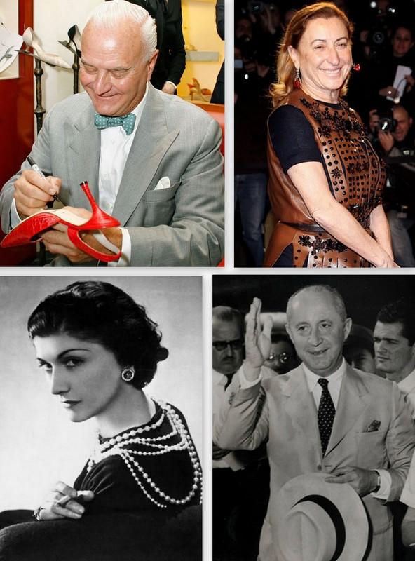 Conheça os maiores estilistas da história