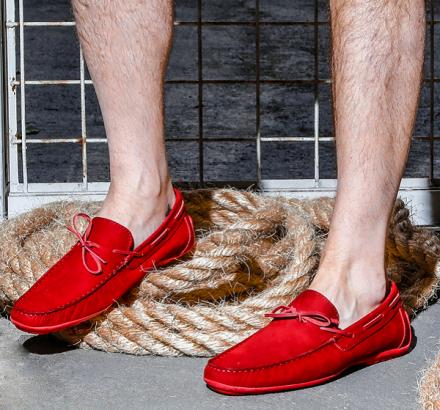 Street Style: Toque de vermelho