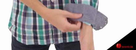 Saiba como dobrar a manga de camisa social