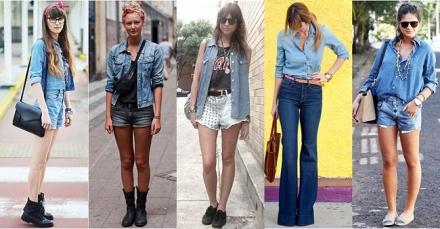 Truque de estilo: Look total jeans