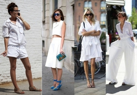 Street Style: Total White