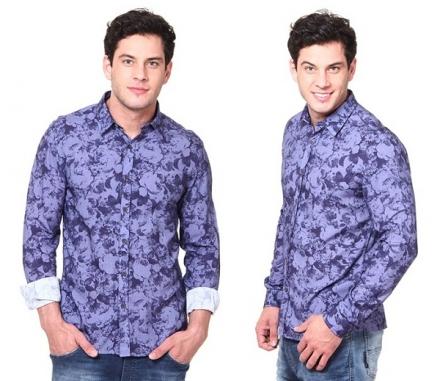 1 peça = 3 looks: Camisa Floral
