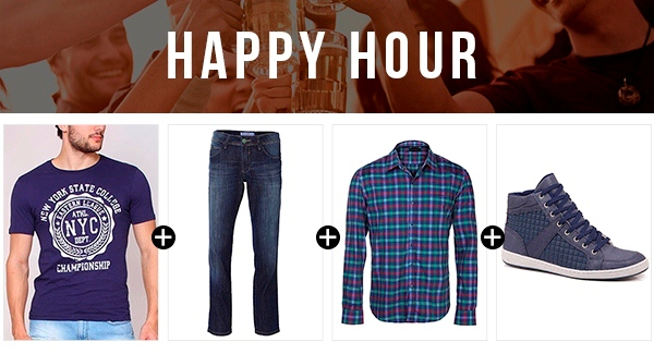 look masculino happy hour