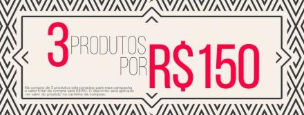 Opções de looks com três peças por R$150,00!!!