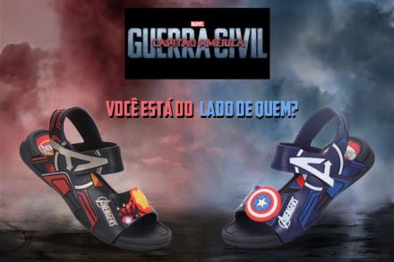 Você já escolheu seu lado? Marvel divulga trailer de Capitão América: Guerra Civil