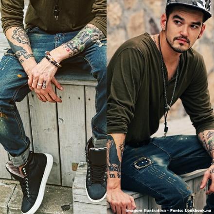 Street Style: Colares e pulseiras masculinas