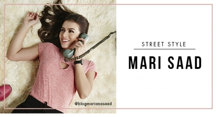 Street Style: top blogger Mariana Saad