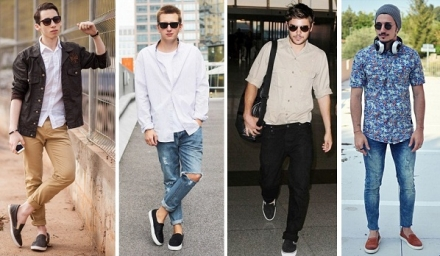 Street Style: Tênis Slip on