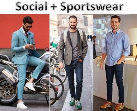 Street Style: Social + Sportswear