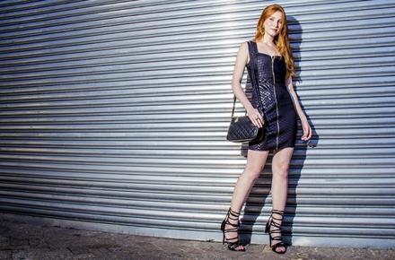 Street Style: Vestido preto