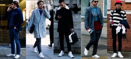 Street Style: Tênis branco
