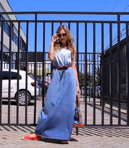vestido jeans longo 2