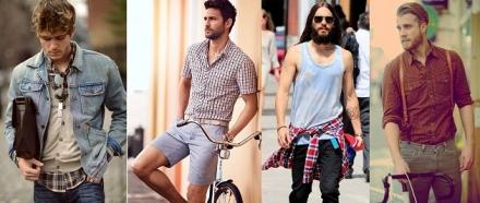 Dica de estilo: Camisa Xadrez Masculina