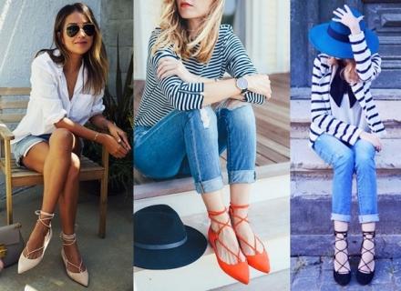 Truque de estilo: Sapatos com amarração