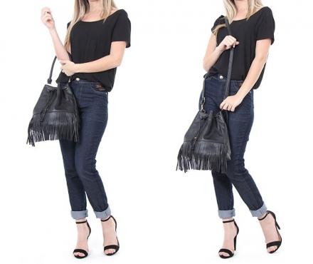 Street Style: Bolsa Saco