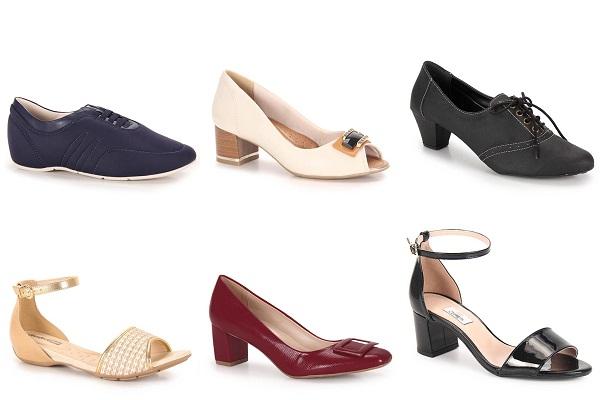 calçados femininos tamanho grande