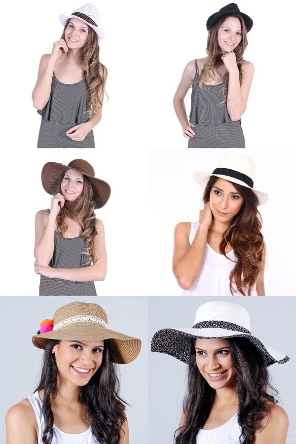 chapéu passarela