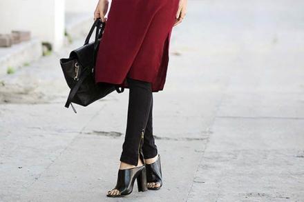 Saiba como combinar vestido com calça para seu look de inverno