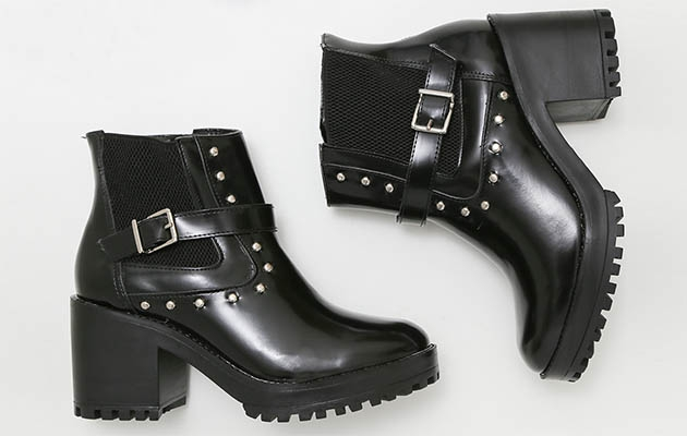 Conheça os Modelos de Sapatos com Salto Tratorado