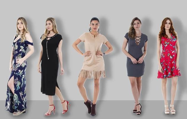 Conheça os Modelos de Vestidos Para o Verão 2017/18