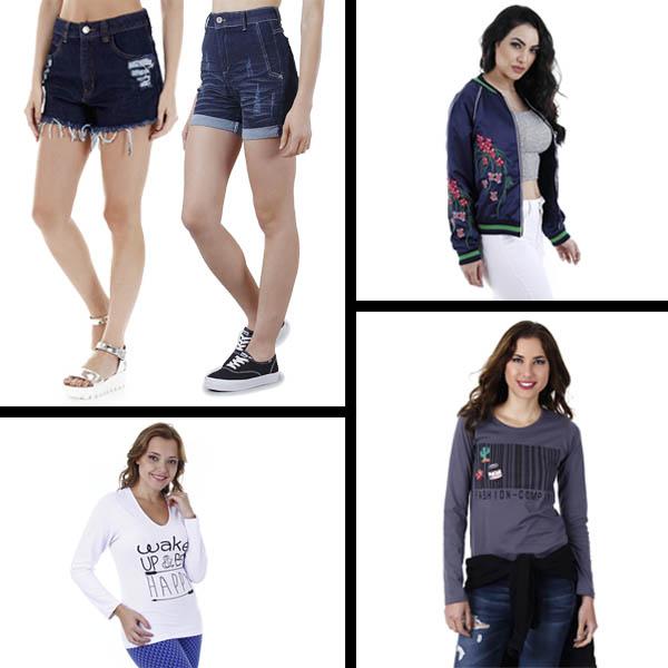 Shorts Jeans no Frio
