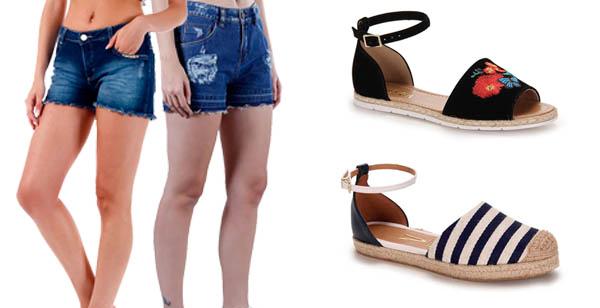 Looks com Shorts Jeans