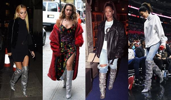 Crystal Boots: Saiba Tudo Sobre a Bota que Faz Parte do Estilo de Rihanna e Anitta