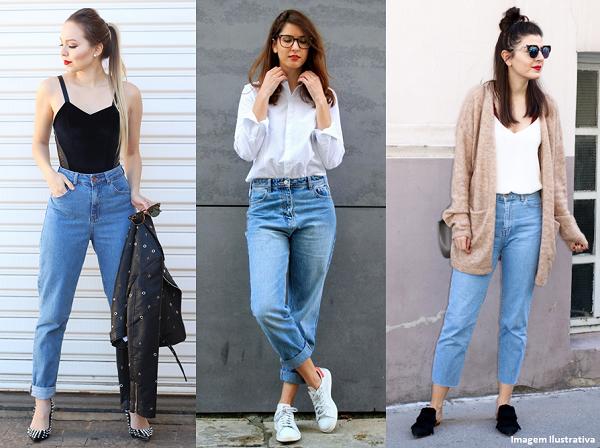 67d351e2b Mom Jeans — Veja a Peça Que é Tendência Para 2018