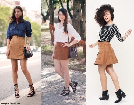 Saia de Camurça: Elegante ou Fora de Moda? Descubra!