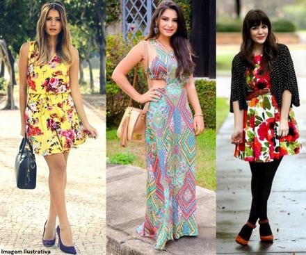 Vestido Estampado — 3 Dicas Para Combinar a Peça Com a Sua Bolsa