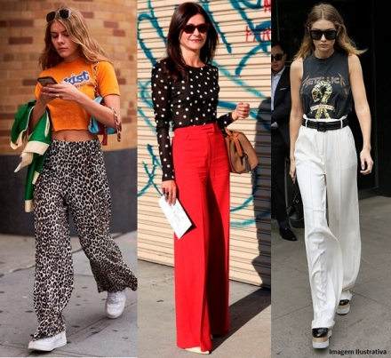 Calça Pantalona — Dicas Para Usar no Dia a Dia