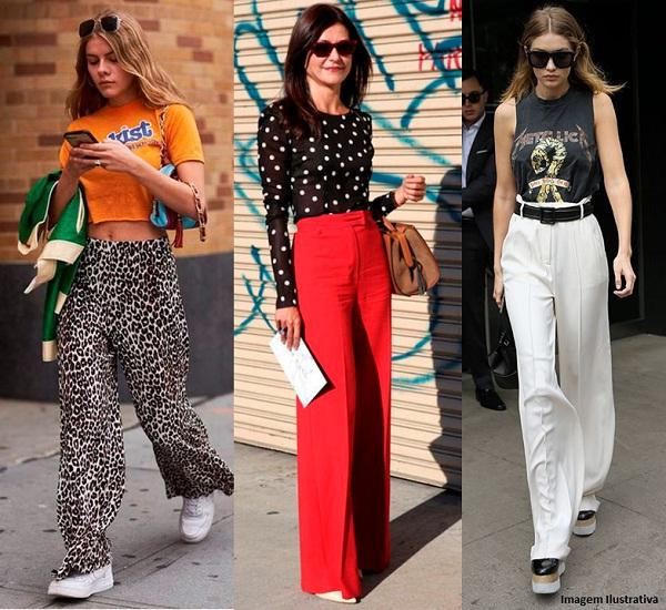 e477b5fe4d44 Calça Pantalona — Dicas Para Usar no Dia a Dia | Passarela Blog | Moda  Feminina e Masculina, Roupas e Calçados