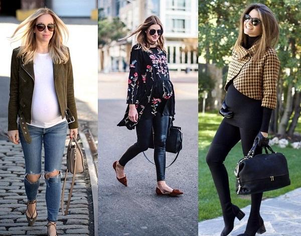 feed1a819 Moda Gestante — Looks de Inverno Para as Futuras Mamães | Passarela ...