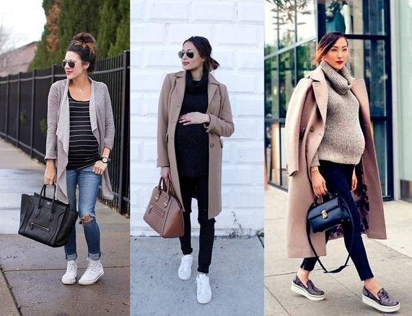 Moda Gestante — Looks de Inverno Para as Futuras Mamães  3605b71742ddd