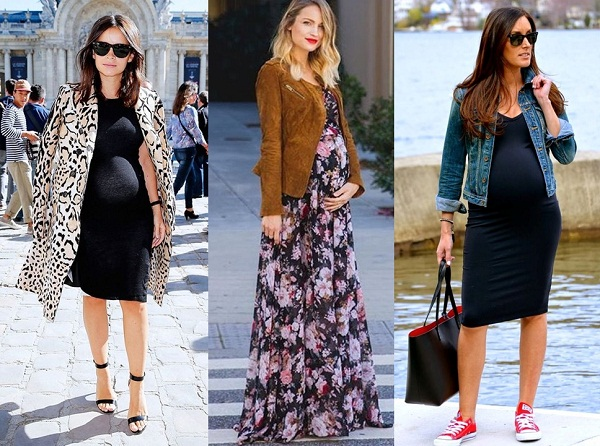 Vestidos p/ a moda gestante