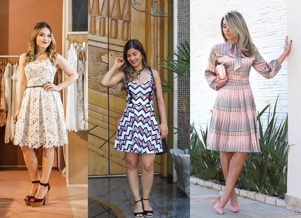 """15c67380a51c Um dos melhores vestidos para o verão é o modelo evasê. É uma peça  atemporal com recorte da saia em formato de """"A"""". O mais interessante é que  ele cai bem em ..."""
