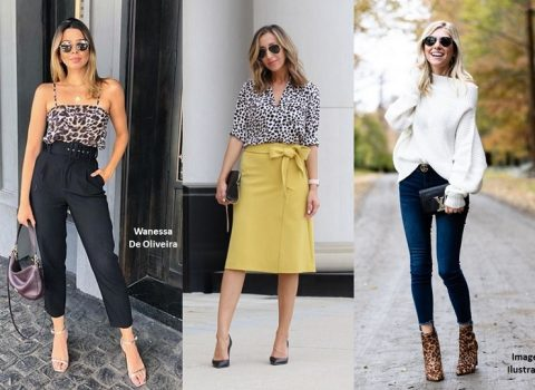 Como Usar Estampa Animal Print?
