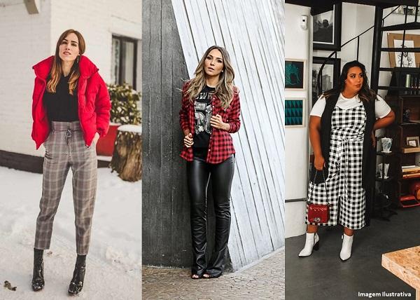 f0f2dbcec Xadrez: a tendência queridinha que nunca sai de moda!   Passarela Blog    Moda Feminina e Masculina, Roupas e Calçados
