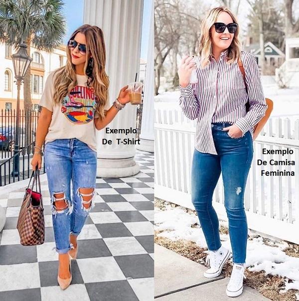 Diferença entre blusa e camisa