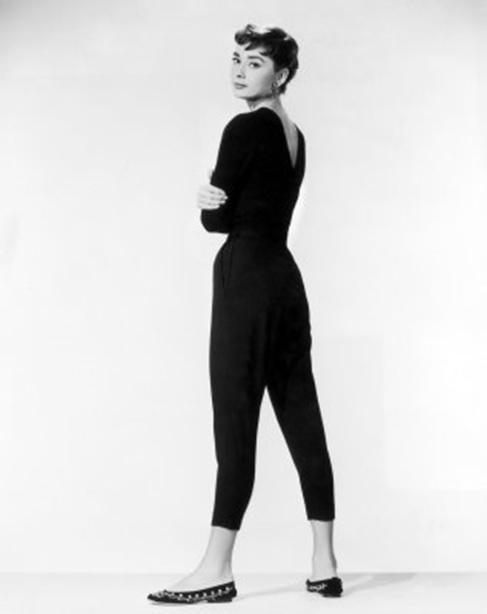 Marlene Dietrich Com calça capri