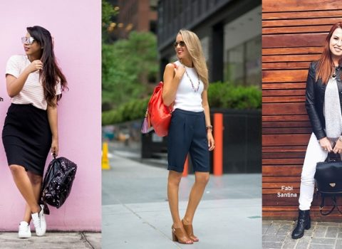 Como usar mochila feminina?