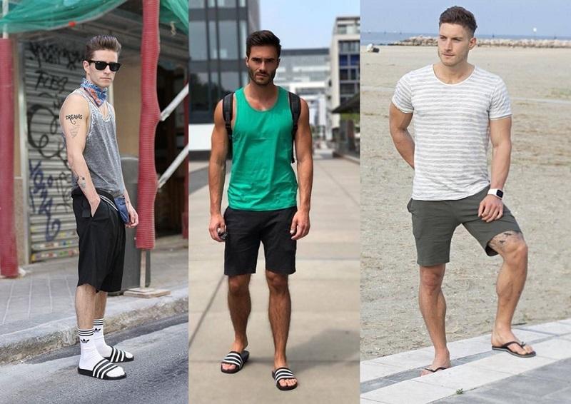 como usar chinelo masculino?