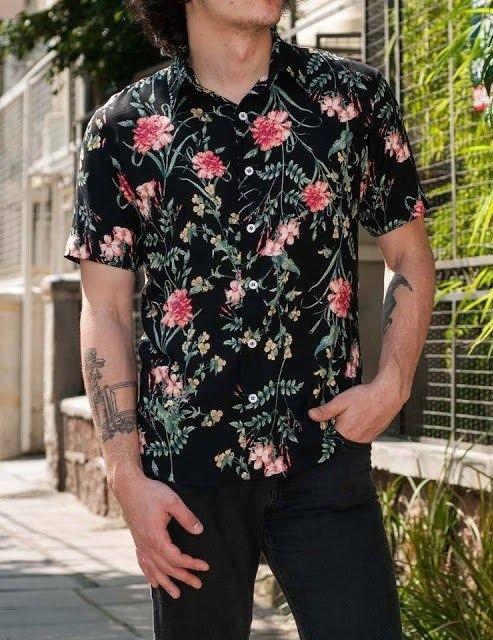 Como a estampa floral masculina surgiu?