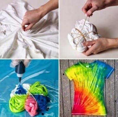 Como fazer Tie Dye em casa?
