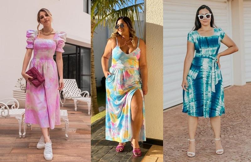 Vestido Tie Dye: A peça-chave do Verão