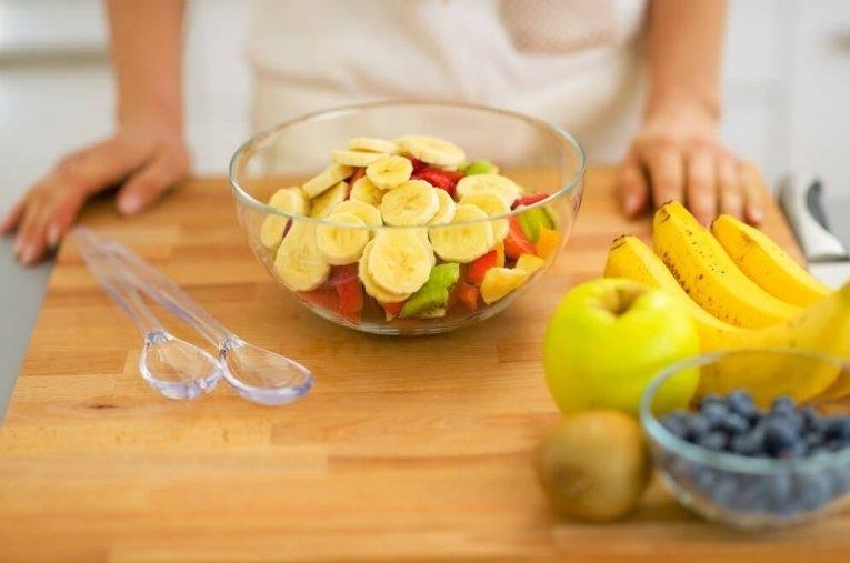 Mantenha uma dieta balanceada